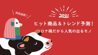 【2021年】ヒット商品&トレンド予測!コロナ禍だから人気の出るモノ